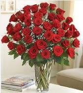 Cam vazoda 51 kırmızı gül süper indirimde  İzmir Konak çiçek yolla