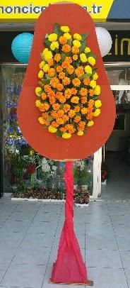 Tek katlı düğün nikah açılış çiçeği  İzmir Konak online çiçekçi , çiçek siparişi