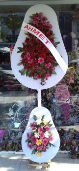 Çift katlı düğün nikah çiçeği  İzmir Konak hediye çiçek yolla
