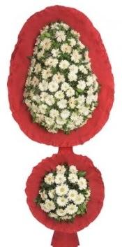 Çift katlı düğün açılış nikah çiçeği  İzmir Konak online çiçek gönderme sipariş