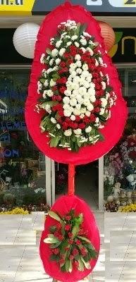Çift katlı düğün çiçekleri  İzmir Konak ucuz çiçek gönder