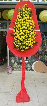 İzmir Konak çiçek yolla , çiçek gönder , çiçekçi   Tek katlı düğün nikah çiçeği
