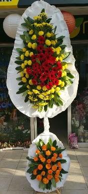 Çift katlı düğün açılış çiçek modeli  İzmir Konak İnternetten çiçek siparişi