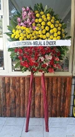 İzmir Konak çiçekçi telefonları  Cenaze çiçek modeli