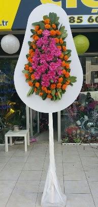 Tek katlı düğün nikah açılış çiçeği  İzmir Konak çiçek mağazası , çiçekçi adresleri