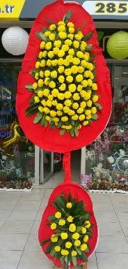 Çift katlı düğün nikah açılış çiçeği  İzmir Konak yurtiçi ve yurtdışı çiçek siparişi