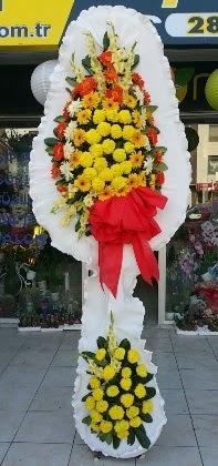 Çift katlı düğün nikah açılış çiçeği  İzmir Konak çiçek siparişi sitesi