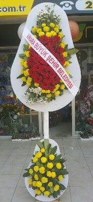 Çift katlı düğün nikah açılış çiçek modeli  İzmir Konak çiçek servisi , çiçekçi adresleri