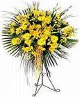 İzmir Konak internetten çiçek satışı  Sari kazablanka Ferforje