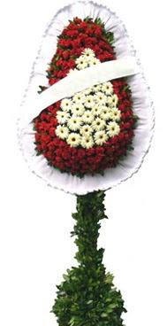 Çift katlı düğün nikah açılış çiçek modeli  İzmir Konak çiçek siparişi vermek