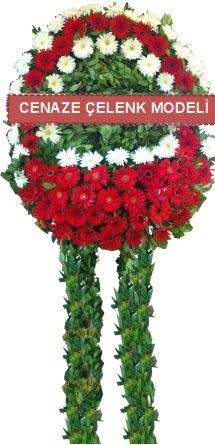 Cenaze çelenk modelleri  İzmir Konak çiçek satışı