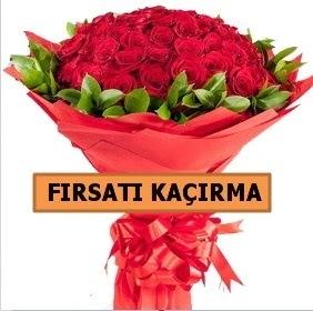 SON 1 GÜN İTHAL BÜYÜKBAŞ GÜL 51 ADET  İzmir Konak kaliteli taze ve ucuz çiçekler