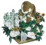 İzmir Konak çiçek yolla  Gerbera antoryum aranjmani
