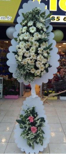 Çift katlı düğün nikah açılış çiçeği  İzmir Konak uluslararası çiçek gönderme