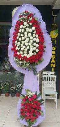 Çift katlı işyeri açılış çiçek modeli  İzmir Konak hediye sevgilime hediye çiçek