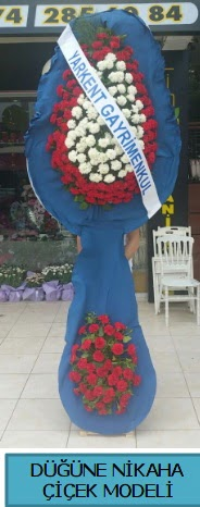 Düğüne nikaha çiçek modeli  İzmir Konak 14 şubat sevgililer günü çiçek