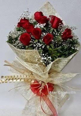 Söz nişan çiçeği kız isteme buketi  İzmir Konak çiçek online çiçek siparişi
