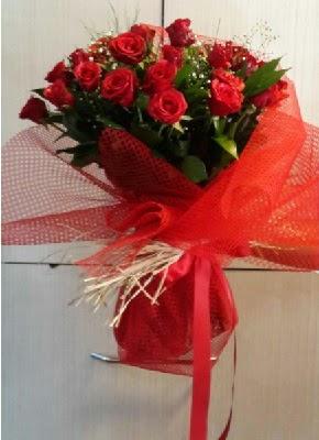 Kız isteme çiçeği söz nilşan buketi 41 li  İzmir Konak cicekciler , cicek siparisi