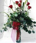 İzmir Konak çiçek mağazası , çiçekçi adresleri  7 adet gül özel bir tanzim