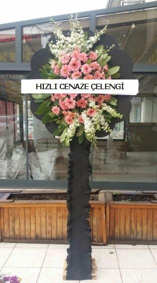 Hızlı cenaze çiçeği çelengi  İzmir Konak cicek , cicekci