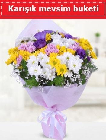 Karışık Kır Çiçeği Buketi  İzmir Konak çiçek siparişi sitesi