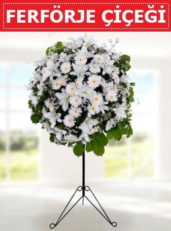 Ferförje aranjman çiçeği  İzmir Konak hediye sevgilime hediye çiçek