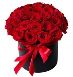 25 adet kırmızı gül kız isteme çiçeği  İzmir Konak kaliteli taze ve ucuz çiçekler