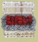 İzmir Konak çiçek gönderme sitemiz güvenlidir  Sandikta 11 adet güller - sevdiklerinize en ideal seçim