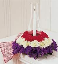 İzmir Konak internetten çiçek siparişi  Krizantenlerden özel çiçek